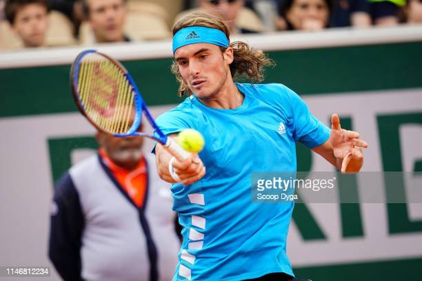Stefanos Tsitsipas of Greece during the Day 4 of Roland Garros on May 29 2019 in Paris France