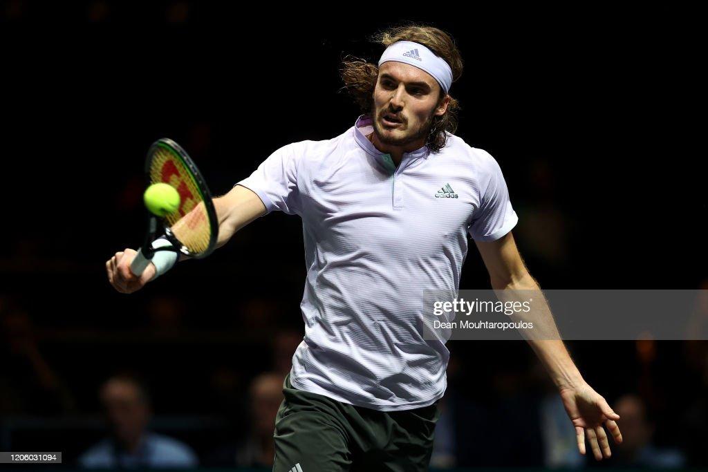 ABN AMRO World Tennis Tournament - Day Six : ニュース写真