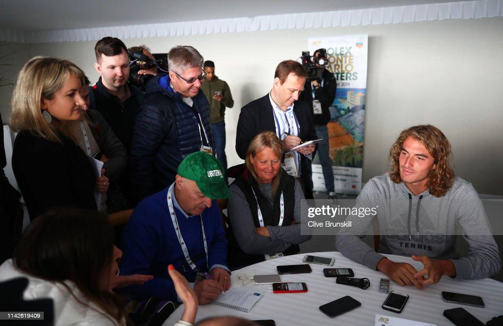 Rolex Monte-Carlo Masters - Day One : Fotografía de noticias