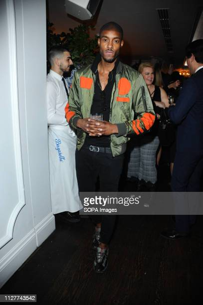 SteffanPierre Tomlinson seen during the LFW Nina Naustdal s/s19 catwalk show Designer previews its spring/summer 2019/2020 collection which was...