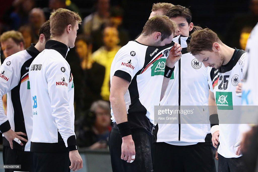 Germany v Qatar - 25th IHF Men's World Championship 2017 Round of 16