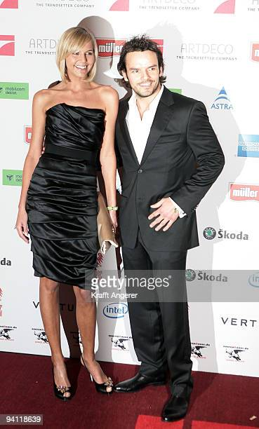 Steffen Henssler and Kathi attend the Movie Meets Media 10th Anniversary event on December 07 2009 in Hamburg Germany