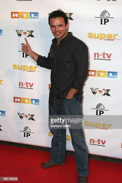 Steffen Henssler attends the Prime Time Nightclub Party at 3001 club on August 7 2007 in Dsseldorf Germany