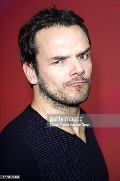 Steffen Henssler attends the 'Sing meinen Song das Tauschkonzert' photocall at Asphalt Club on March 6 2014 in Berlin Germany