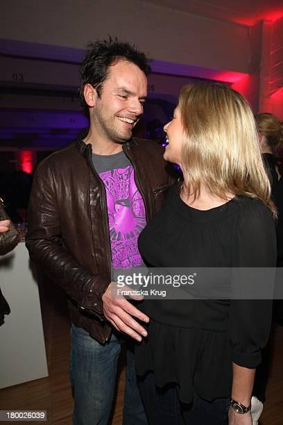 Steffen Henssler Und Schwangere Freundin Nadja Braun Beim 'Gala Style Club' Unter Dem Motto 'Where Fashion Meets Music' Im Elbdock In Hamburg