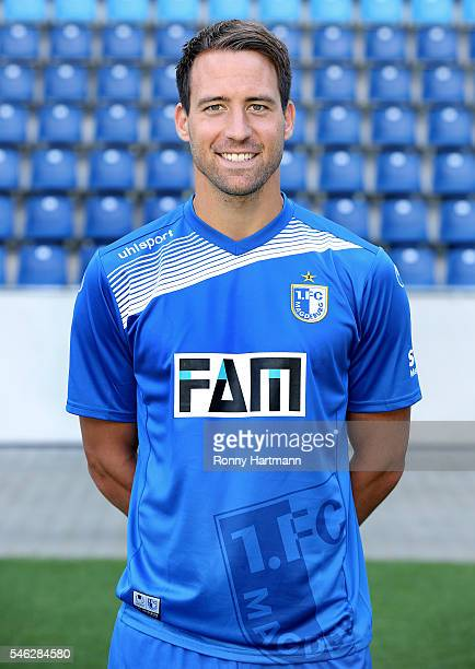 Steffen Puttkammer poses during the team presentation of 1 FC Magdeburg at MDCCArena on July 7 2016 in Magdeburg Germany Steffen Puttkammer
