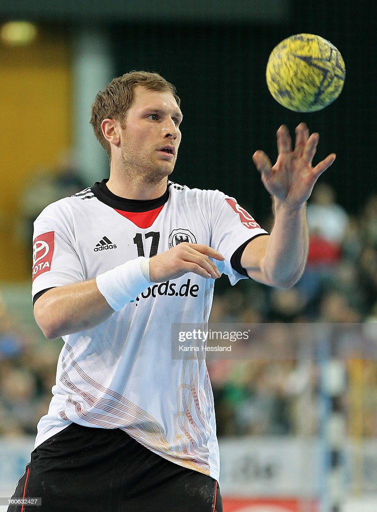 Steffen Weinhold of Germany during the match between Germany and Bundesliga All Stars on February 2, 2013 in Leipzig, Germany.