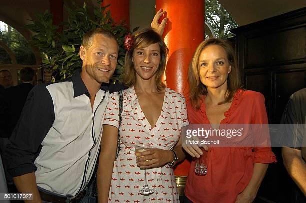 Steffen Wink Carin C Tietze Sissy Höfferer Party zum 30jährigen Jubiläum der ZDFSerie Soko 5113 München Deutschland PNr1085/2006 Restaurant Seehaus...