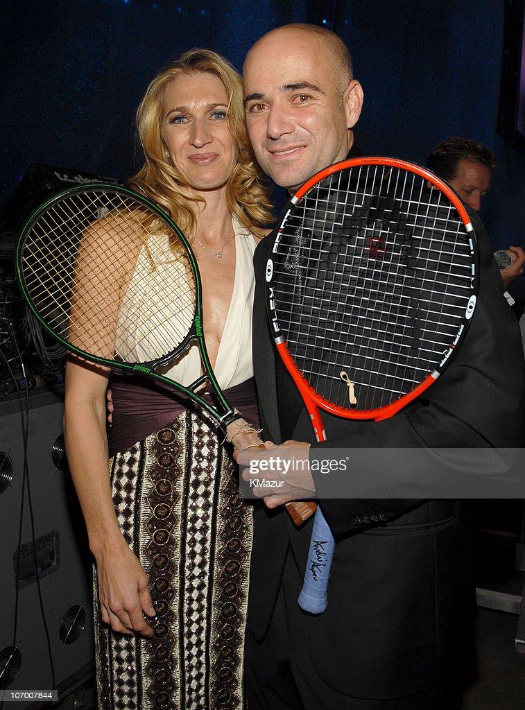 "The Andre Agassi Charitable Foundation's 11th Annual ""Grand Slam for Children"" Fundraiser - Auction : Nachrichtenfoto"