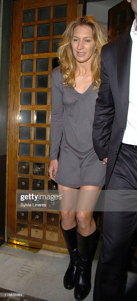 Steffi Graf and Andre Agassi Sighting in London - February 21, 2007
