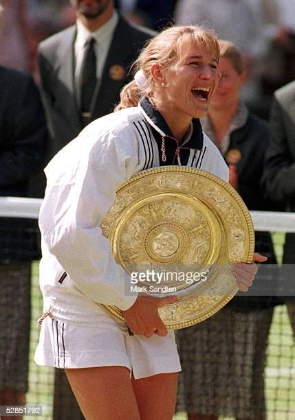 Steffi GRAF - gewann