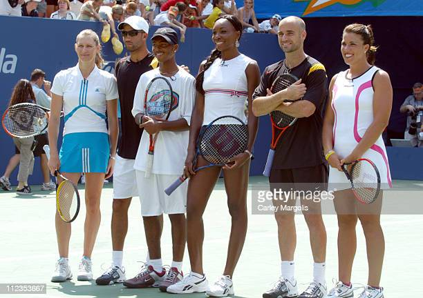 Steffi Graf James Blake Donald Young Venus Williams Andre Agassi and Jennifer Capriatei