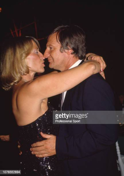 Steffi Graf's parents Heidi Graf and Peter Graf dancing together at the Players' Party after the French Open Championships on June 5 1988 in Paris...