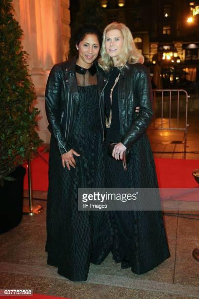 Steffi Jones and Frau Nicole Parma attend the German Sports Media Ball at Alte Oper on November 05 2016 in Frankfurt am Main Germany