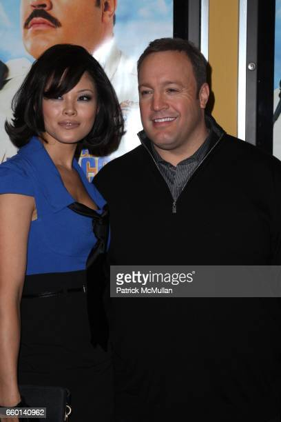 Steffiana De La Cruz and Kevin James attend COLUMBIA PICTURES Presents a Special Screening of PAUL BLART MALL COP at Clearview Chelsea Theatre on...