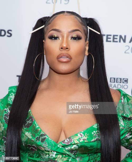 Stefflon Don attends BBC Radio 1's Teen Awards 2019 on November 24, 2019 in London, United Kingdom.