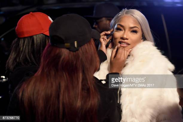 Stefflon Don attends the MTV EMAs 2017 held at The SSE Arena Wembley on November 12 2017 in London England