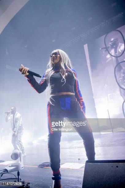 Stefflon Don performs at O2 Academy Brixton on November 10, 2019 in London, England.