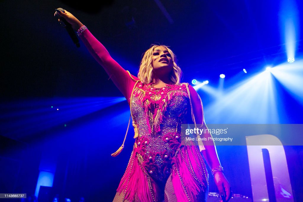 GBR: Stefflon Don Performs In Cardiff
