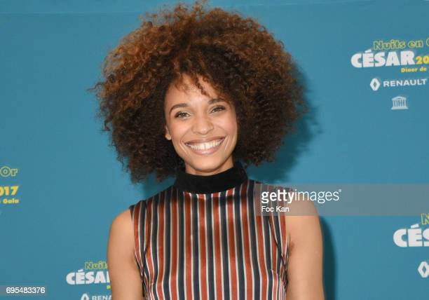 Stefi Celma attends 'Les Nuits en Or 2017' Dinner Gala - Photocall at UNESCO on June 12, 2017 in Paris, France.