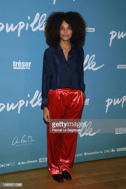 Stefi Celma attends Pupille Premiere at Cinema Pathe Beaugrenelle on November 27 2018 in Paris France