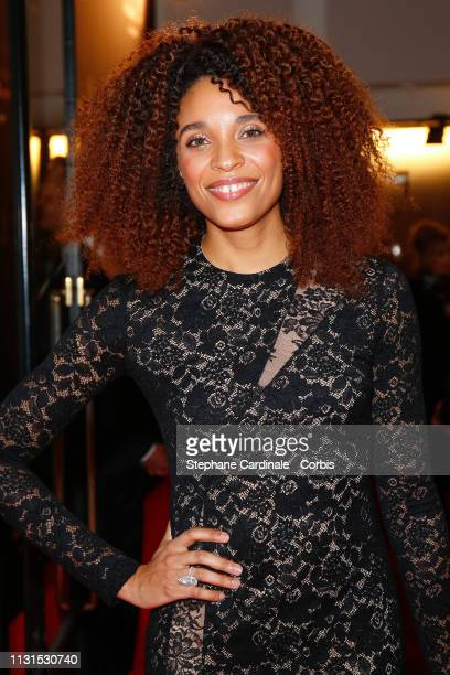 Stefi Celma attends the Cesar Film Awards 2019 at Salle Pleyel on February 22 2019 in Paris France