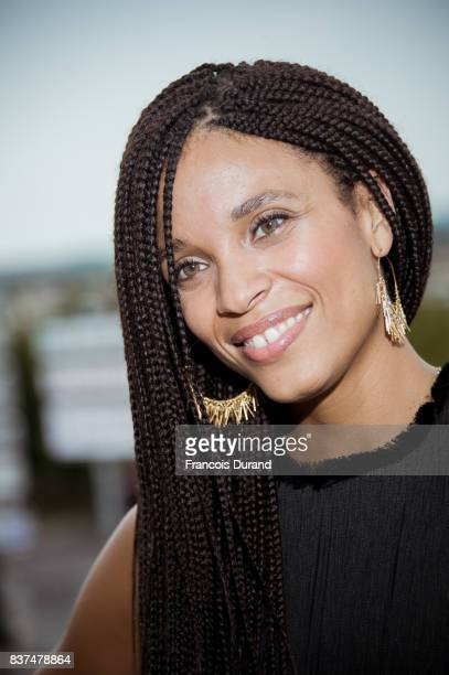 Stefi Celma attends the Jury photocall during the 10th Angouleme FrenchSpeaking Film Festival on August 22 2017 in Angouleme France