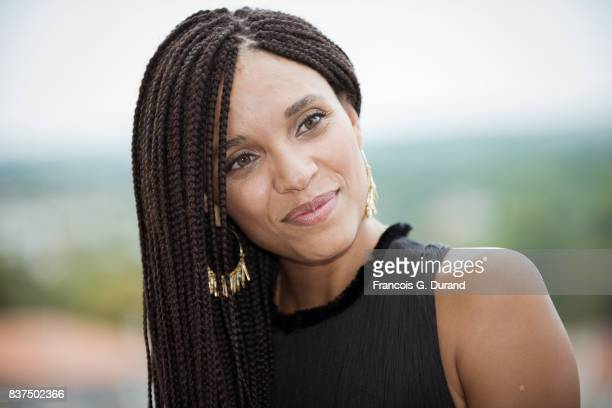 Stefi Celma attends the Jury photocall during the 10th Angouleme French-Speaking Film Festival on August 22, 2017 in Angouleme, France.
