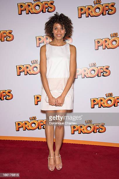 Stefi Celma attends the 'Les Profs' Premiere at Le Grand Rex on April 9, 2013 in Paris, France.