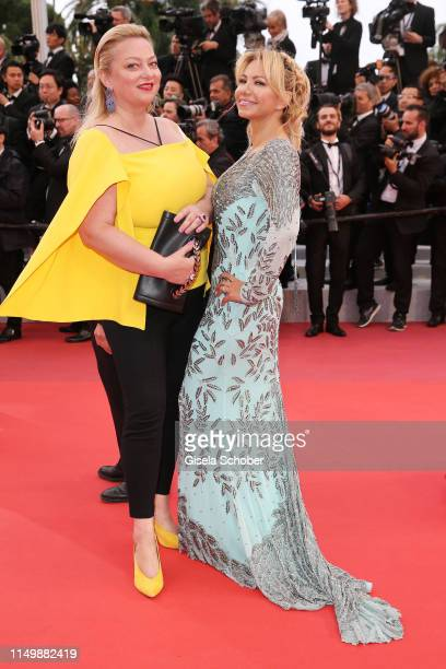 """Stefi Celma attends the screening of """"Pain And Glory """" during the 72nd annual Cannes Film Festival on May 17, 2019 in Cannes, France."""