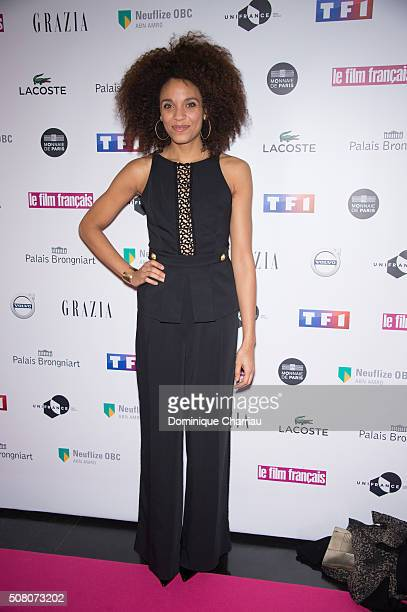 Stefi Celma attends the 'Trophees Du Film Francais' 23rd Ceremony at Palais Brongniart on February 2, 2016 in Paris, France.