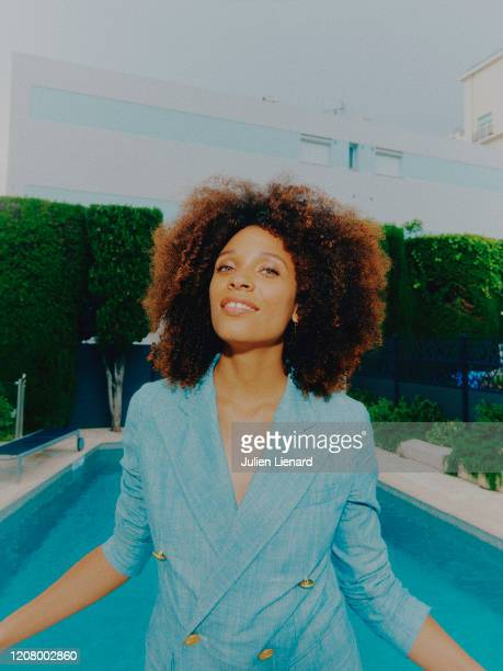 Stefi Celma poses for a portrait on May, 2018 in Cannes, France. .