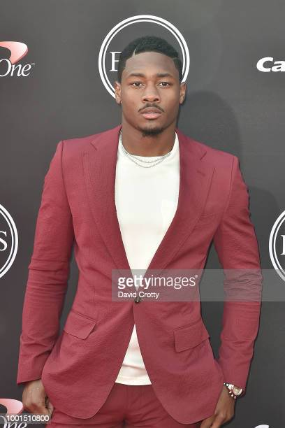 Stefon Diggs attends The 2018 ESPYS at Microsoft Theater on July 18 2018 in Los Angeles California