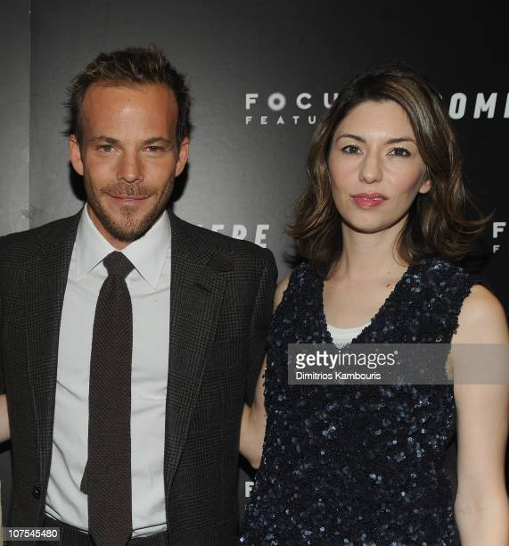 Stehen Dorff and director Sofia Coppola attend the New York Screening of Somewhere at Tribeca Grand Hotel on December 12 2010 in New York City