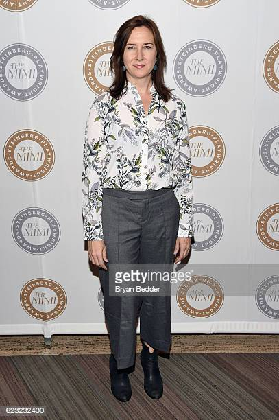 Steinberg Distinguished Playwright Award Recipient Lisa D'Amour attends the 2016 Steinberg Playwright Awards honoring Sarah Ruhl hosted by the Harold...