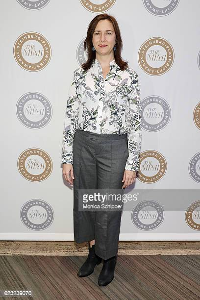 Steinberg Distinguished Playwright Award Recipient Lisa D'Amour attends the 2016 Steinberg Playwright Awards at Lincoln Center Theater on November 14...