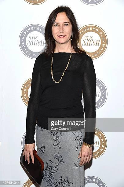 Steinberg Playwright Award Winner Lisa d'Amour attends the 2015 Steinberg Playwright Awards on November 16 2015 in New York City