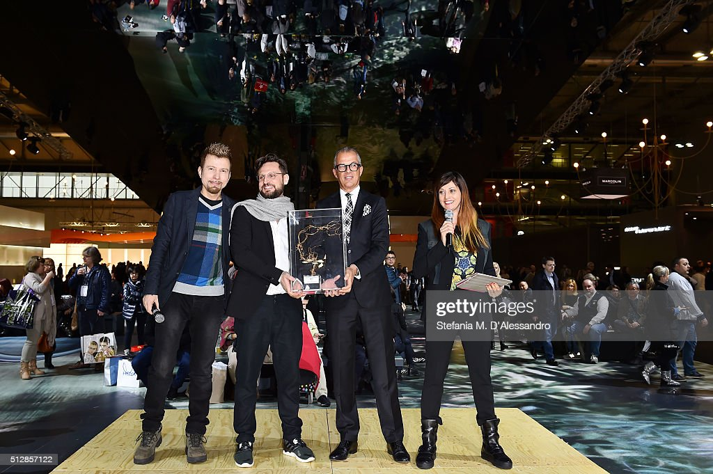 Steingasse 14 (Germany) the winner Bestore MIDO 2016, the Milano Eyewear Show, during Milan Fashion Week FW16 on February 28, 2016 in Milan, Italy.