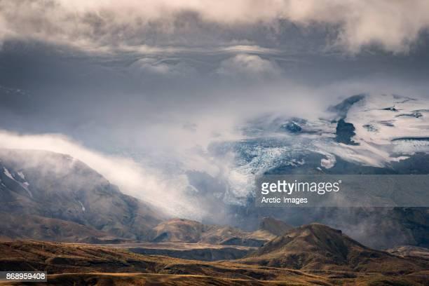 steinsholtsjokull glacier, thorsmork, iceland - extreme terrain stock pictures, royalty-free photos & images