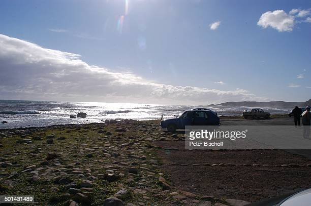 SteinUferam 'Cape of Good Hope' bei Kapstadt Südafrika Afrika Reise NB DIG PNr 1299/2005