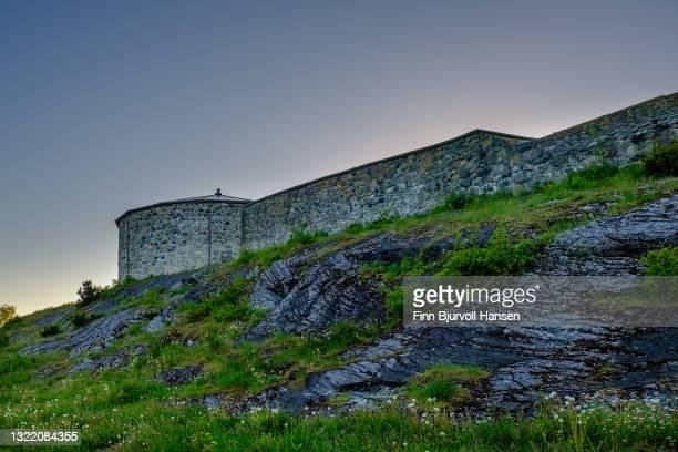 steinvikholmen castle in stjordal norway - finn bjurvoll bildbanksfoton och bilder