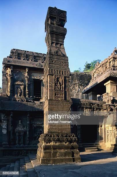 Stelae in Kailasa Temple
