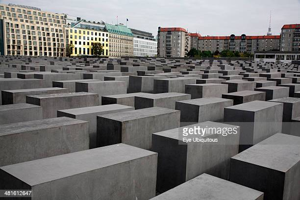 Stele at the Holocaust Memorial