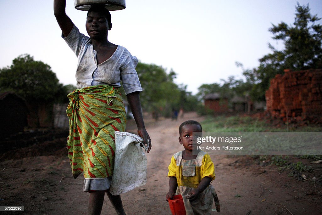 Southern Africa Hunger And Poverty Crisis : News Photo
