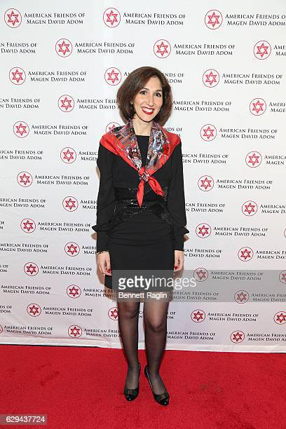 Stella AmarCohen attends the American Friends Of Magen David Adom New York Gala on December 12 2016 in New York City