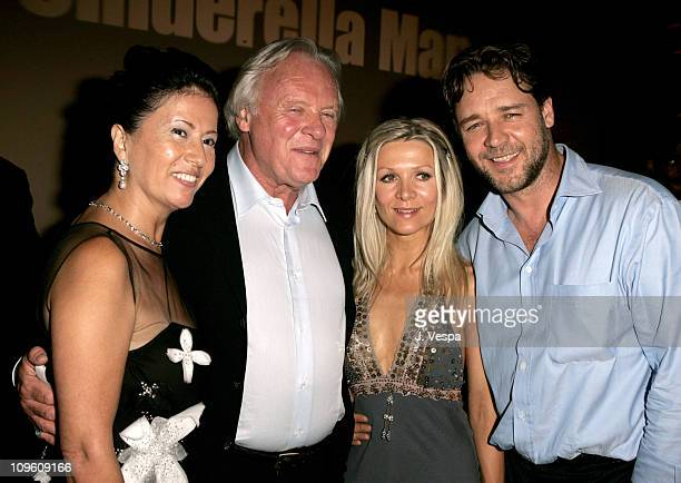 Stella Arroyave Anthony Hopkins Danielle Spencer and Russell Crowe