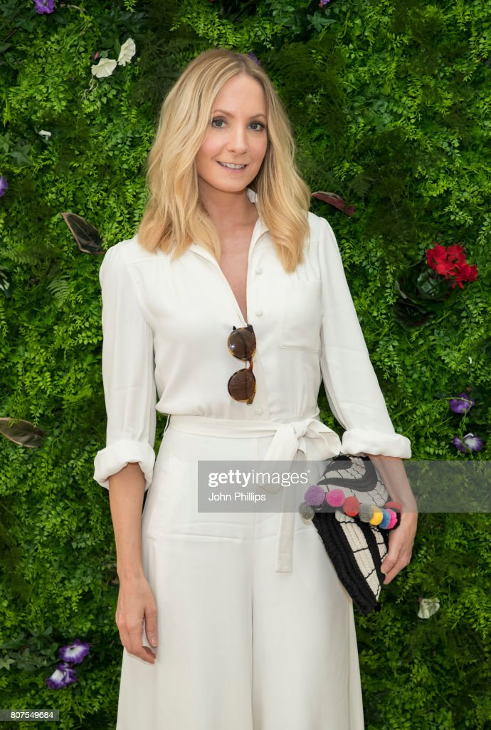 Stella Artois hosts Joanne Froggatt at The Championships, Wimbledon as official beer of the tournament at Wimbledon on July 4, 2017 in London, England.