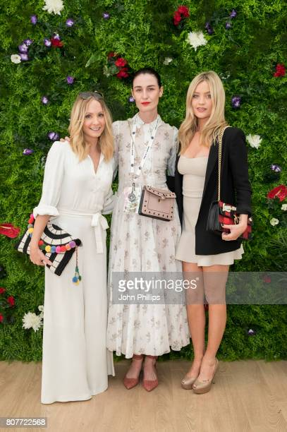 Stella Artois hosts Joanne Froggatt Erin O'Connor and Laura Whitmore at The Championships Wimbledon as official beer of the tournament at Wimbledon...