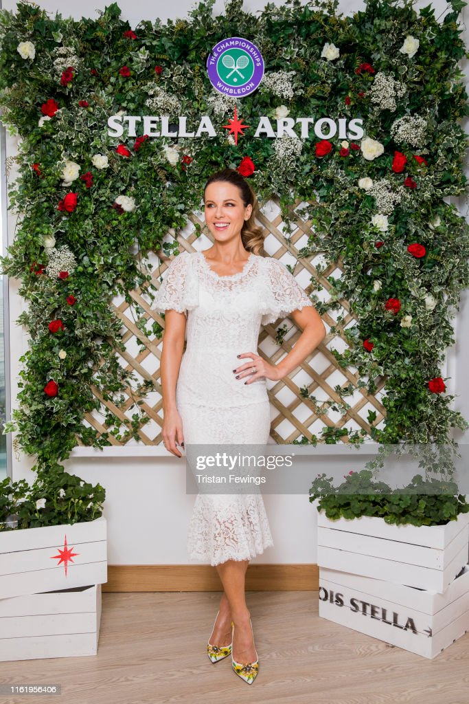 Joie de Biere At The Wimbledon Championships With Stella Artois : News Photo