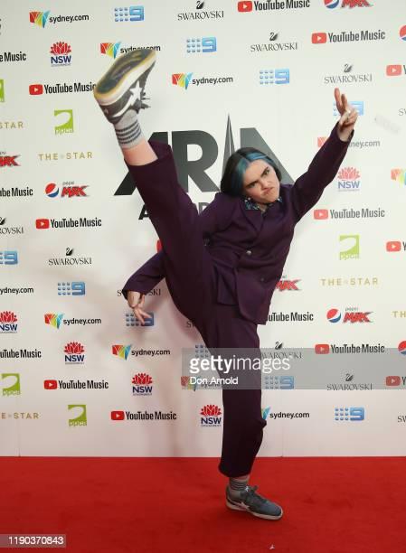 Stella Bennett arrives for the 33rd Annual ARIA Awards 2019 at The Star on November 27 2019 in Sydney Australia
